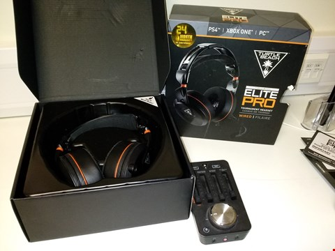 Lot 2104 TURTLE BEACH ELITE PRO2 HEADSET WITH SUPERAMP – PS4 RRP £289.99