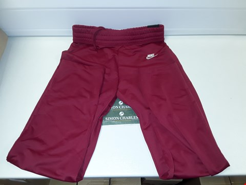Lot 3296 NIKE WOMENS TRACKSUIT BOTTOMS - SIZE S