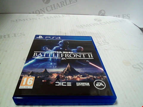 Lot 5549 PS4 STAR WARS BATTLEFRONT II GAME RRP £69.99
