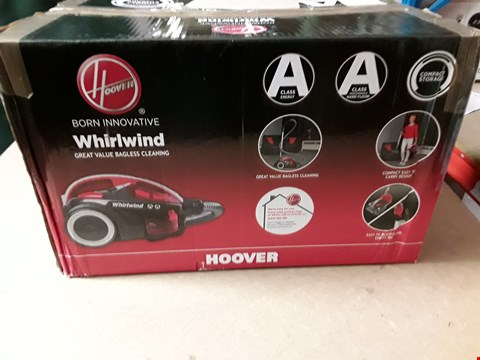 Lot 3254 HOOVER WHIRLWIND BAGLESS VACUUM CLEANER