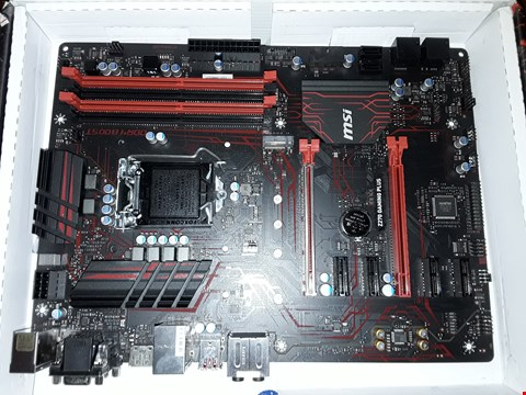 Lot 4309 MSI 7A59-002R Z270 GAMING PLUS ATX MOTHERBOARD