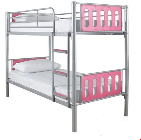 Lot 3512 BOXED CYBER BUNK BED PINK