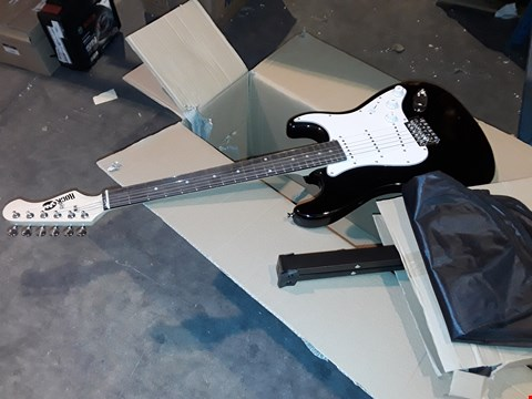 Lot 4664 ROCKSTAR ELECTRIC GUITAR WITH STAND