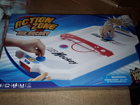 Lot 7159 BRAND NEW ACTION ZONE AIR HOCKEY  RRP £22.99