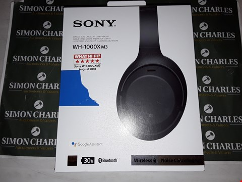 Lot 401 SONY WH-1000XM3 WIRELESS NOISE CANCELLING HEADPHONES