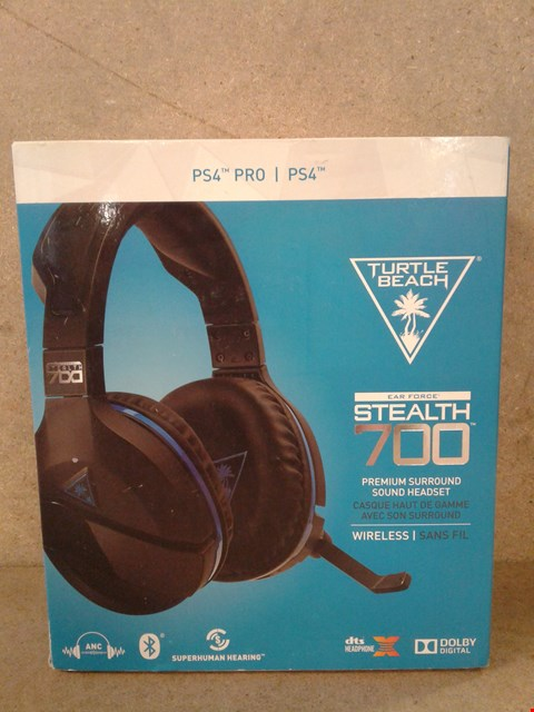 Lot 515 PRE OWNED TURTLE BEACH EAR FORCE STEALTH 700 PREMIUM SURROUND SOUND HEADSET