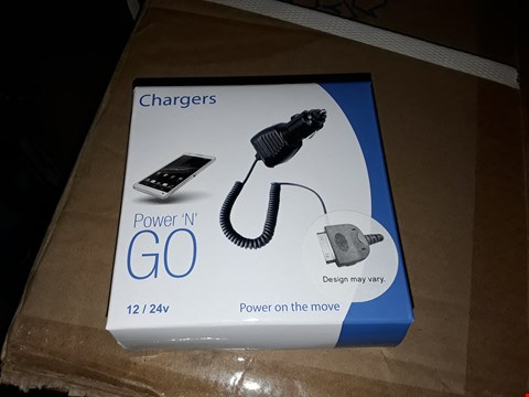 Lot 1124 LOT OF APPROXIMATELY 15 BOXES OF 150 POWER 'N' GO CHARGER