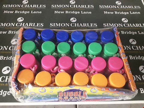 Lot 591 LOT OF 5 ASSORTED PACKS OF BUBBLE MAGIC