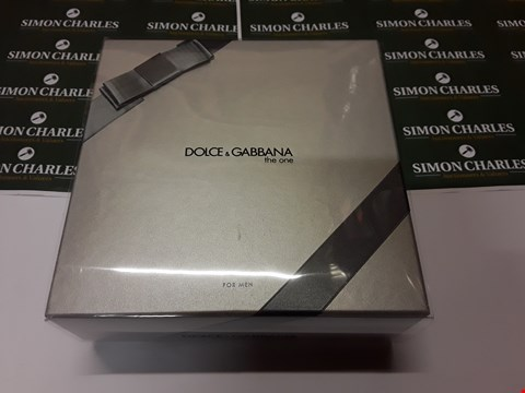 Lot 12001  DOLCE & GABBANA STYLE THE ONE GIFT SET FOR MEN