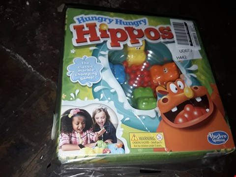 Lot 4085 HASBRO ELEFUN FRIENDS HUNGRY HUNGRY HIPPOS RRP £22.99