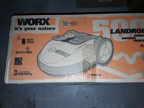 Lot 562 WORX LANDROID UNMANNED MOWING MACHINE