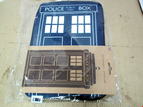 "Lot 11607 DOCTOR WHO 13"" LAPTOP CASE"