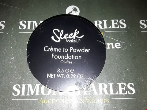 Lot 5067 APPROXIMATELY FIVE SLEEK CREME TO POWDER FOUNDATION