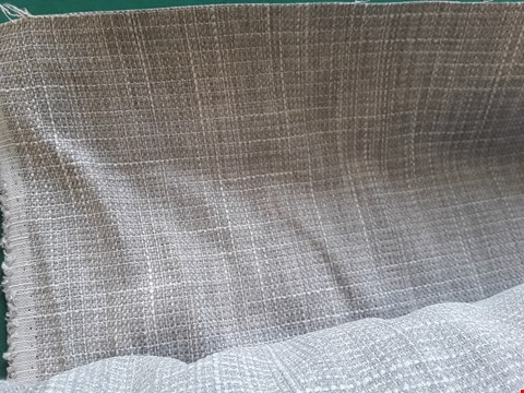 Lot 2034 ROLL OF EMPORIO 515 LINEN FIRE RETARDANT MATERIAL APPROXIMATELY 140cm × 9.7M