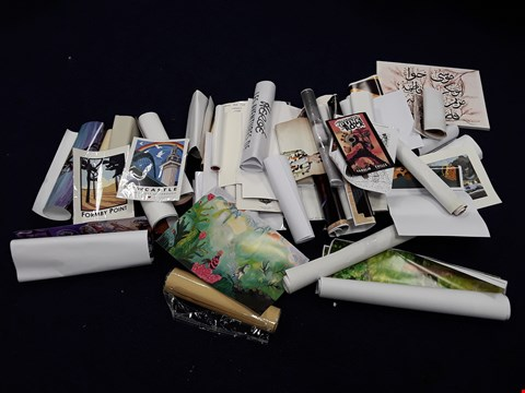 Lot 44 LARGE QUANTITY OF ASSORTED ARTWORKS