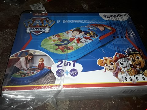 Lot 4088 BOXED PAW PATROL MY FIRST READYBED (1 BOX) RRP £44.99