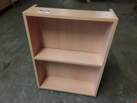 Lot 63 BRAND NEW MEDIUM OAK LOOK BASE OPEN SHELF UNIT - 50X18X69CM