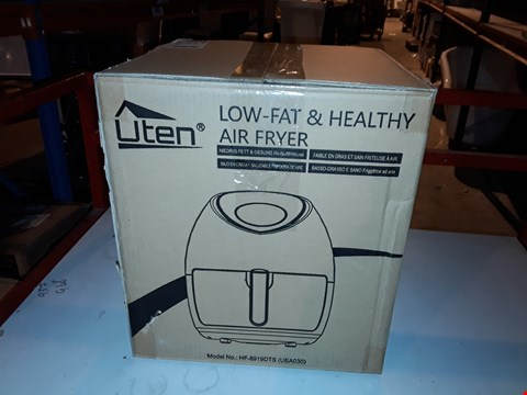 Lot 1982 NETTA AIR FRYER OIL FREE WITH ADJUSTABLE TEMPERATURE CONTROL AND TIMER ,3.5L BLACK
