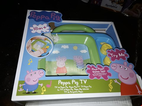 Lot 4070 PEPPA PIG MY FIRST TV