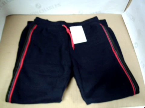 Lot 7107 PAUL SMITH JUNIOR BOYS VELIO JOGGER NAVY PANTS - SIZE 10 YEARS