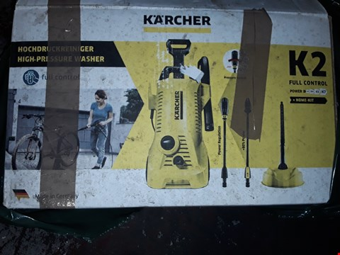 Lot 12533 KARCHER K2 FULL CONTROL PRESSURE WASHER