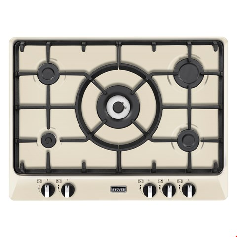 Lot 12018  STOVES STRICH700GH 70CM BUILT-IN GAS HOB