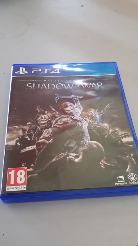 Lot 9050 MIDDLE EARTH SHADOW OF WAR FOR PS4