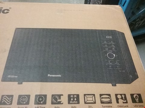 Lot 610 PANASONIC INVERTER MICROWAVE OVEN - BLACK