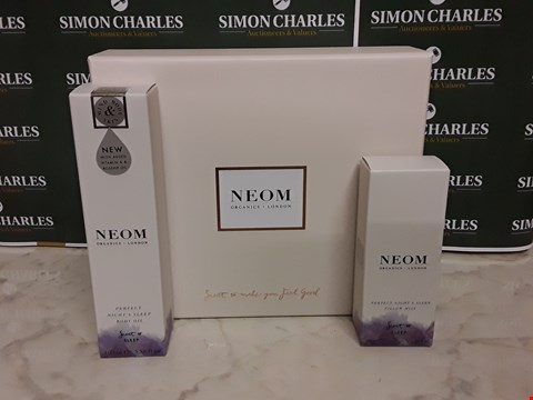 Lot 12011 NEOM ORGANICS STYLE 2PC PERFECT NIGHTS SLEEP BOXSET