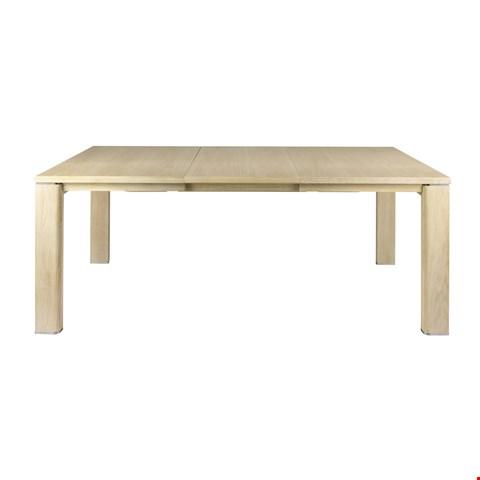 Lot 3006 CONTEMPORARY DESIGNER BOXED JENSON BLONDE OAK LARGE DINING TABLE (2 BOXES) RRP £988.00