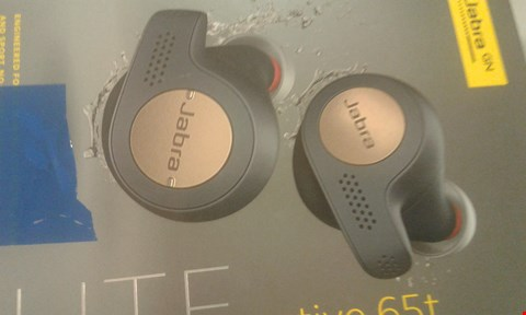 Lot 205 JABRA ELITE 65T BLUETOOTH HEADPHONES