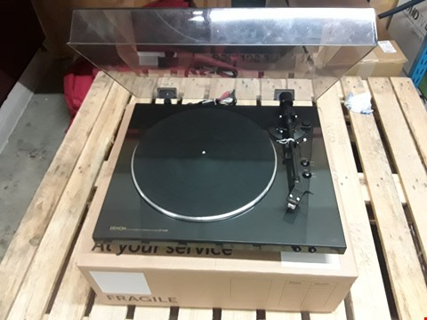 Lot 7396 BOXED DENON DP300F TURNTABLE