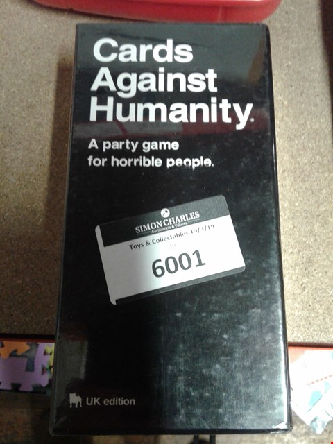 Lot 6001 PACK OF CARDS AGAINST HUMANITY