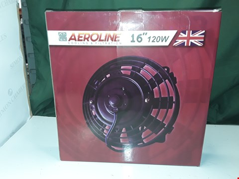 "Lot 14 AEROLINE 16"" 120W RADIATOR FAN"