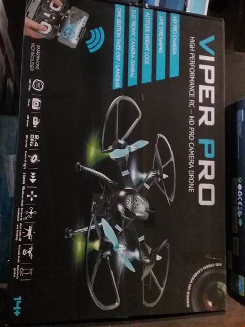 Lot 7178 VIPER PRO HIGH PERFORMANCE HD CAMERA DRONE