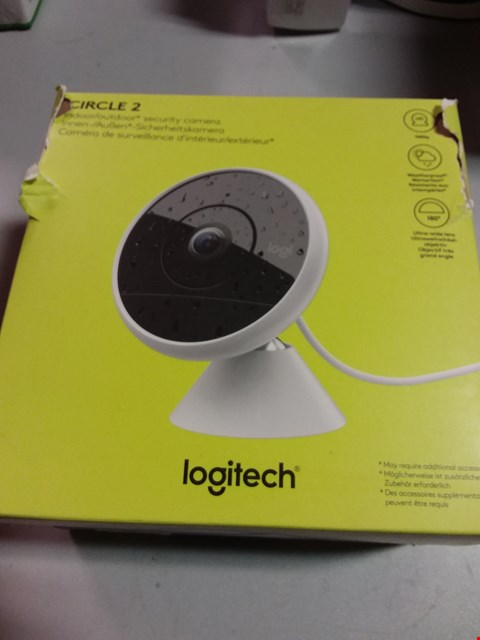 Lot 12192 LOGITECH CIRCLE 2 SECURITY CAMERA