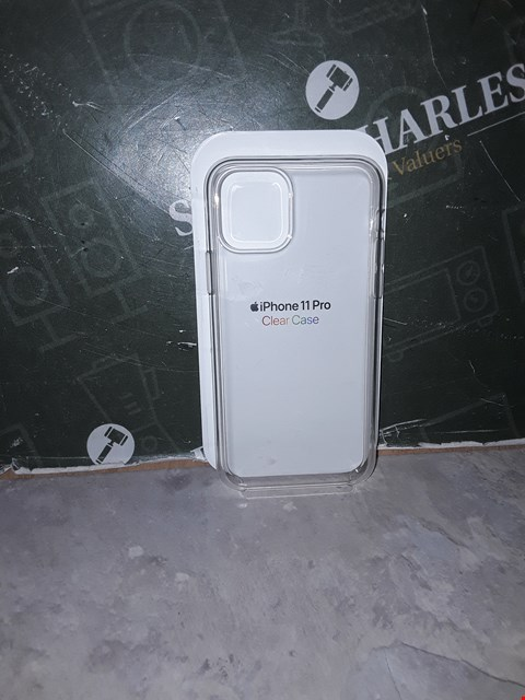 Lot 14465 APPLE IPHONE 11 PRO CLEAR CASE RRP £45.00