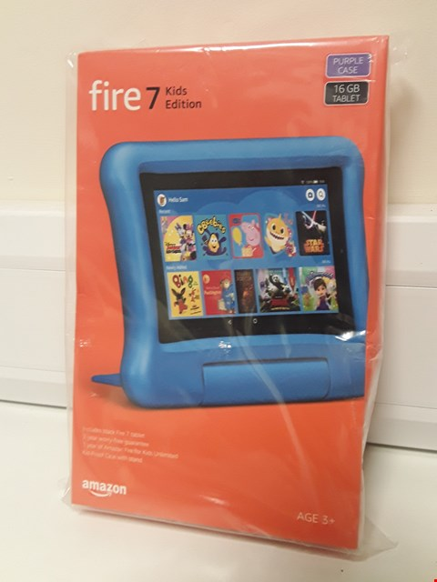 Lot 4593 BOXED AMAZON FIRE 7 KIDS EDITION TSBLET (SEALED)
