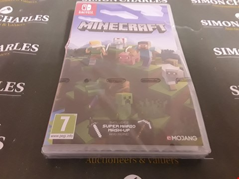 Lot 1195 NINTENDO SWITCH MINECRAFT - SWITCH RRP £33.00