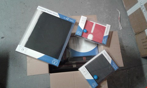 Lot 11511 BOX OF APPROXIMATELY 30 ASSORTED MEDIUM AND LARGE PROTECTIVE TABLET CASES
