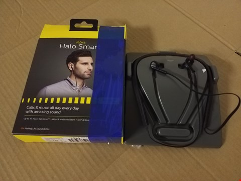 Lot 8037 JABRA HALO SMART WIRELESS STEREO EARBUDS