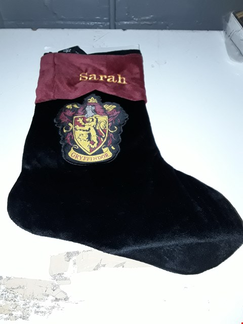 Lot 1158 GRADE 1 PERSONALISED HARRY POTTER CHRISTMAS STOCKING