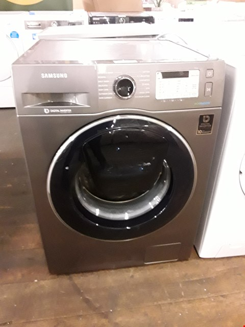 Lot 12041 SAMSUNG WW70K5413UX/EU 7KG 1400 SPIN WASHING MACHINE WITH ECOBUBBLE - GRAPHITE RRP £759.99