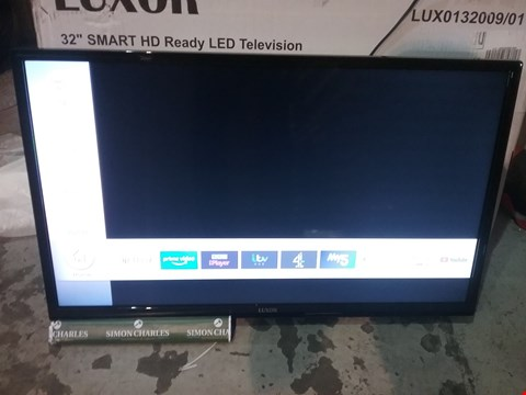 "Lot 56 BOXED LUXOR 32"" SMART HD READY LED TELEVISION RRP £179.99"