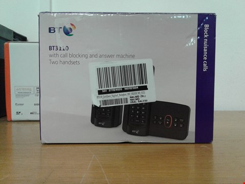 Lot 2044 BT3110 CORDLESS DIGITAL TELEPHONE  RRP £54.99
