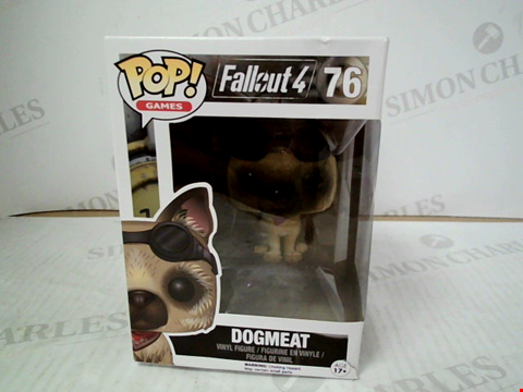"Lot 3120 POP! GAMES FALLOUT 4 ""DOGMEAT"" VINYL FIGURE"