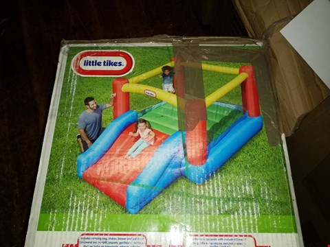 Lot 449 BOXED LITTLE TIKES JUNIOR JUMP AND SLIDE BOUNCY CASTLE RRP £289.99
