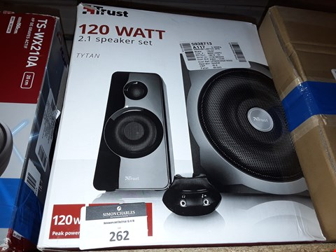 Lot 262 TRUST 2.1 SUBWOOFER SPEAKER SET