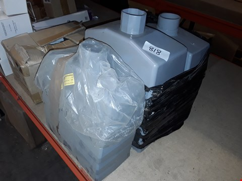 Lot 818 LOT OF APPROXIMATELY 14 PLASTIC HOPPERS
