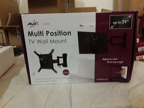Lot 2076 MULTI POSITION TV WALL MOUNT HOLDS TV'S UP TO 39""